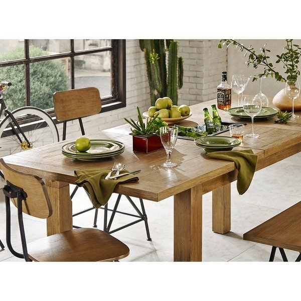 Famous Shop Ink+Ivy Cooper Natural Dining/ Gathering Table – Free Shipping With Cooper Dining Tables (View 11 of 20)