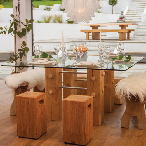 Famous Show Us Yours Oak & Glass Dining Table In Oak And Glass Dining Tables (View 8 of 20)
