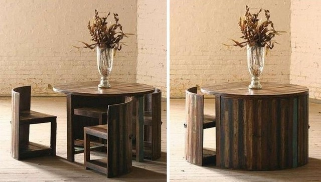 Famous Small Dining Tables With Regard To Dining Table For Small Spaces – Decoration Channel (View 15 of 20)