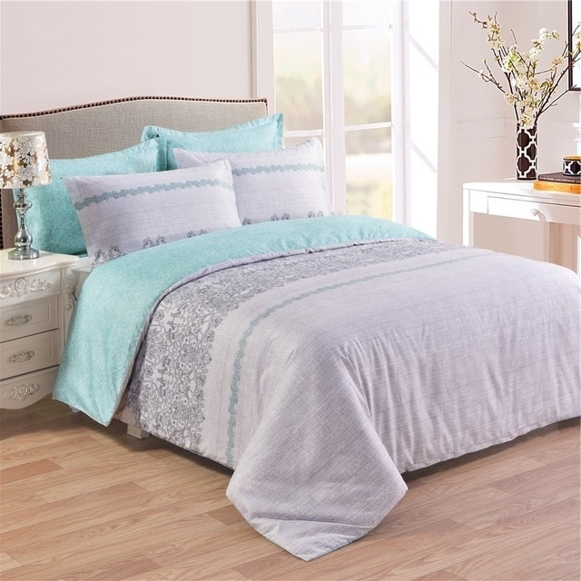 Famous Two Sides Printing Useful Uk Us Bedding Set 2 3pcs Duvet Cover Set With Regard To Garten Linen Skirted Side Chairs Set Of (View 15 of 20)