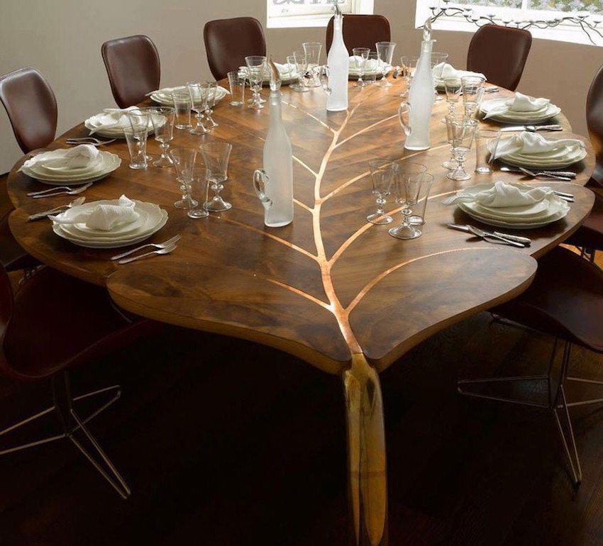 Famous Unusual Dining Tables For Sale Within 10 Unique Wooden Dining Tables That Will Leave You Astonished (View 6 of 20)