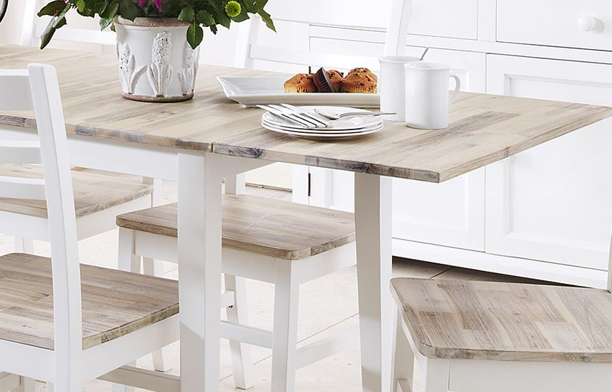 Famous White Extendable Dining Tables In Dining Tables (View 6 of 20)