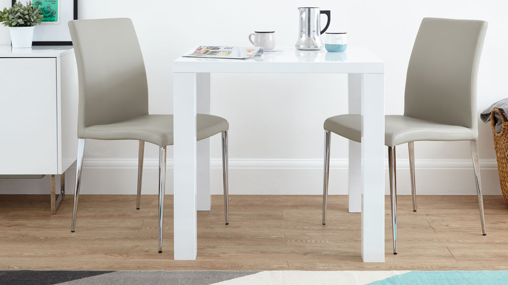 Famous White Square Extending Dining Tables In Dining Tables (View 5 of 20)