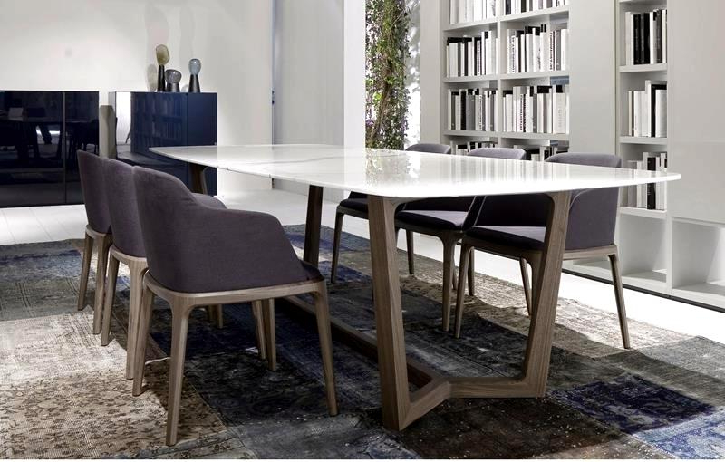 Fantastic Contemporary Dining Tables Sleek Ideas Sleek Contemporary Pertaining To Best And Newest Sleek Dining Tables (View 19 of 20)