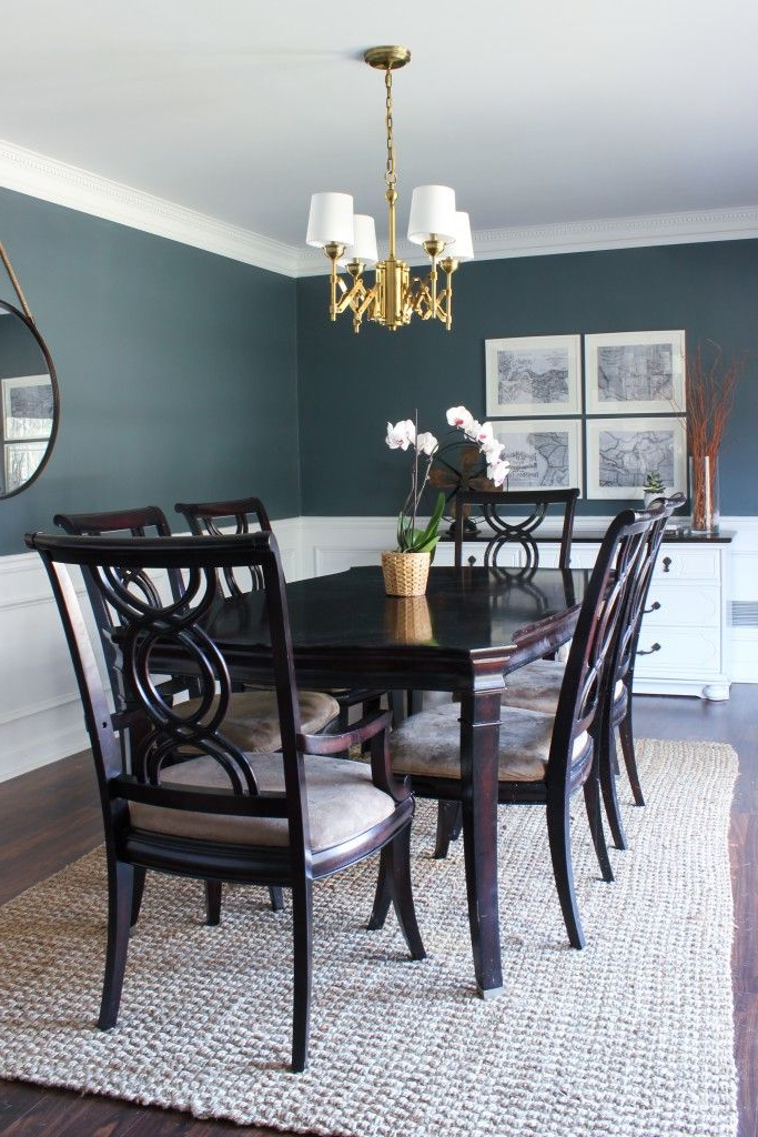 Fashionable 1. Attractive Dark Wood Dining Room Table Best 25 Dark Wood Dining Regarding Dark Dining Room Tables (Gallery 6 of 20)