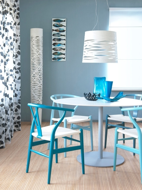 Fashionable Blue Dining Tables With Regard To Dining Table Blue – Modern – Dining Room – Amsterdam (View 7 of 20)