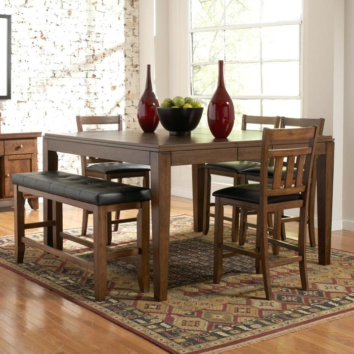 Fashionable Bradford 7 Piece Dining Sets With Bardstown Side Chairs For Bardstown Dining Set Home Creek 6 Piece Counter Height Dining Table (View 8 of 20)