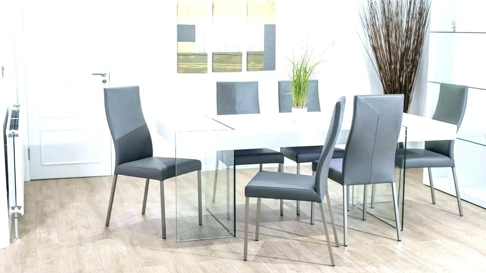 Fashionable Brushed Metal Dining Tables Throughout Modern White Dining Table Modern White Glass Dining Table Brushed (View 9 of 20)