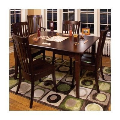 Fashionable Chapleau Ii 7 Piece Extension Dining Table Sets Within Conrad Grebel Newport Dining Table Table Finish: Cherry – Aged Brick (View 2 of 20)