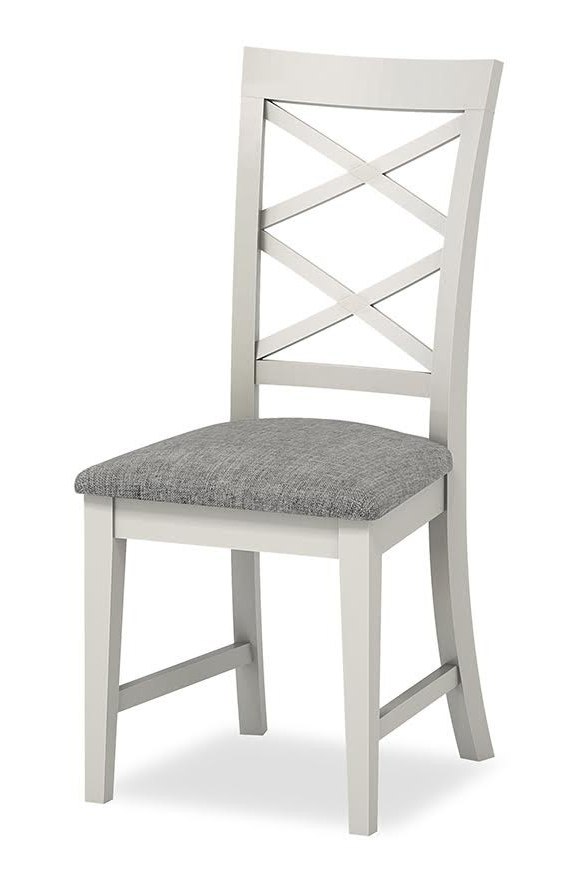 Fashionable Chester Dining Chairs With Chester Dining Chair ( Grey/ Grey) (View 4 of 20)