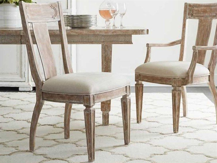 Fashionable Clay Side Chairs Throughout Stanley Furniture Juniper Dell English Clay Contemporary Dining Side (View 3 of 20)
