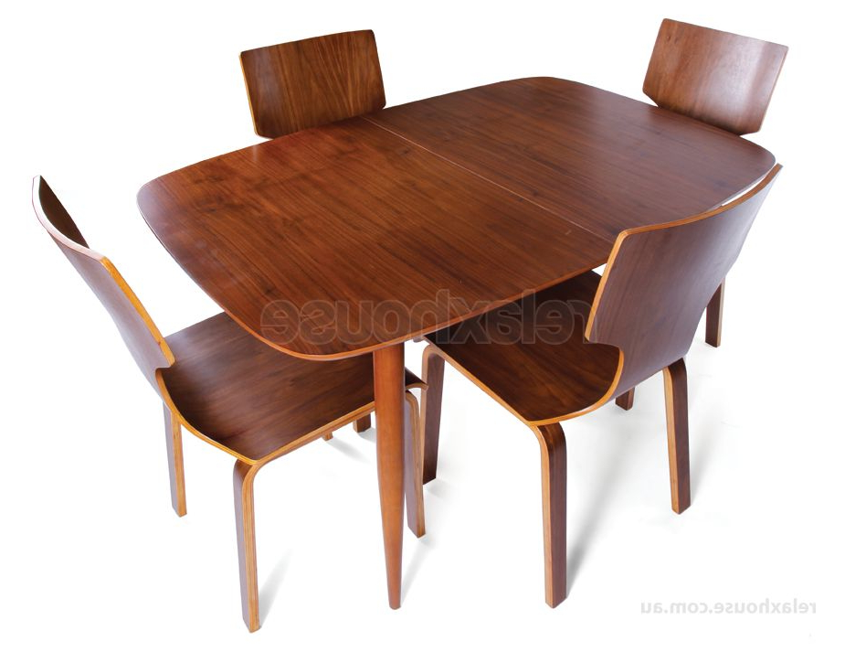 Fashionable Copenhagen Extendable Vintage Danish Dining Table – Walnut Table Top Throughout Danish Dining Tables (Gallery 13 of 20)