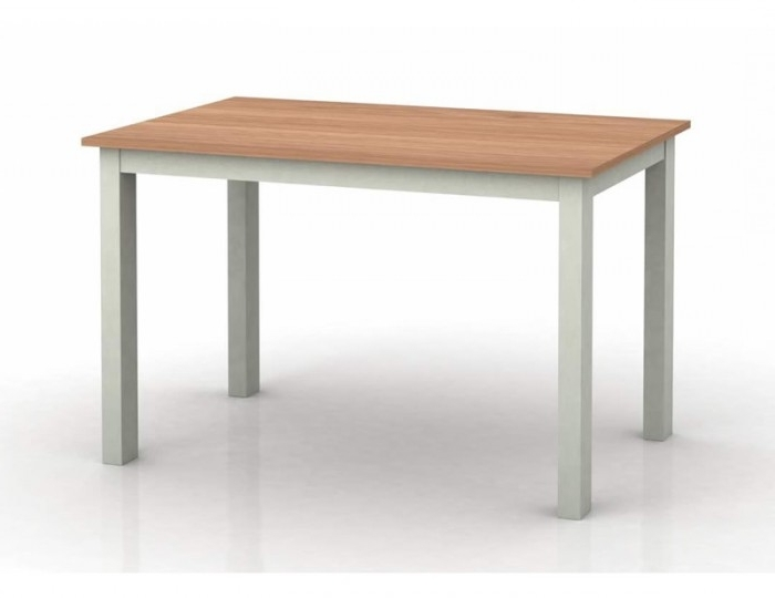 Fashionable Cotswold Dining Tables Regarding Cotswold Grey And Oak Dining Table – Frances Hunt (View 9 of 20)
