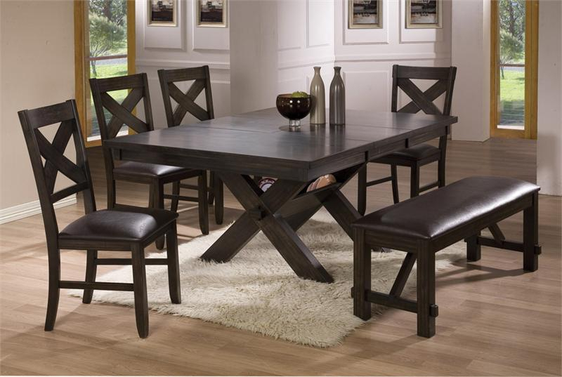 Fashionable Dining Room Tables With Benches (View 13 of 20)