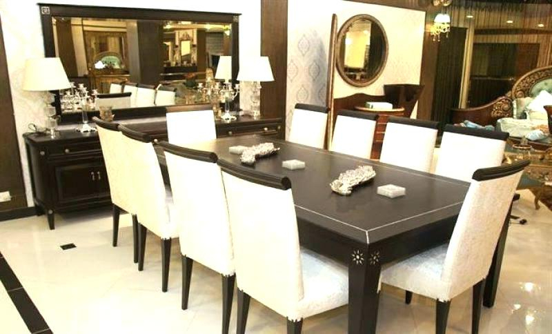 Featured Photo of Dining Table And 10 Chairs