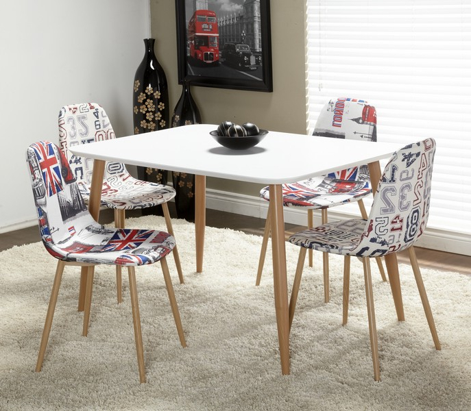 Fashionable Dining Tables With White Legs And Wooden Top Throughout Chateau Imports Is A Wholesale Distributor Of Quality Home Furnishing (View 15 of 20)