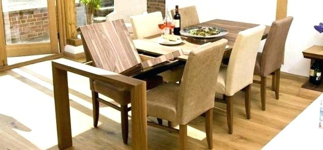 Fashionable Extendable Dining Room Sets Contemporary Dining Tables Extendable With Regard To Contemporary Extending Dining Tables (View 3 of 20)
