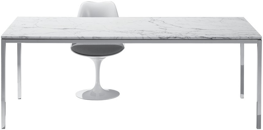 Fashionable Florence Dining Tables Pertaining To Knoll Florence – Dining Table – Gr Shop Canada (View 4 of 20)