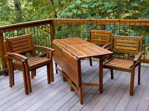 Fashionable Folding Outdoor Dining Tables Inside Foldable Patio Furniture Idea Patio Folding Table And Folding Patio (View 6 of 20)