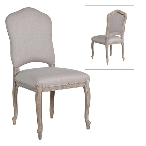 Fashionable French Grey Dining Chair With Grey Dining Chairs (View 9 of 20)