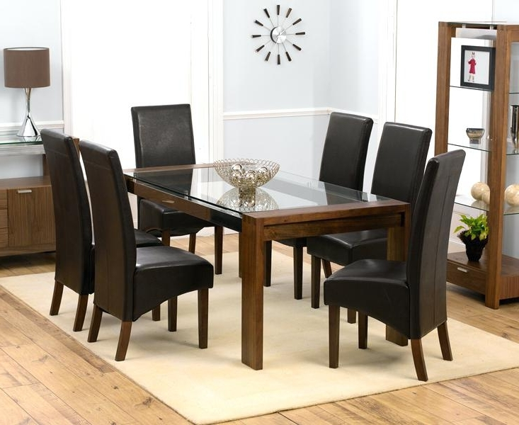 Fashionable Glass Dining Table Set – Windowcleaninghalloffame With Regard To Cheap Glass Dining Tables And 6 Chairs (View 20 of 20)