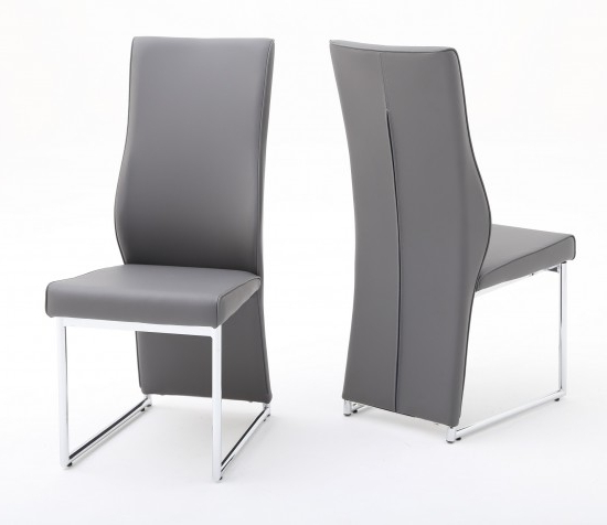 Fashionable Grey Leather Dining Chairs For Premier Stockist For The Torelli Furniture Remo Grey Leather Dining (View 5 of 20)