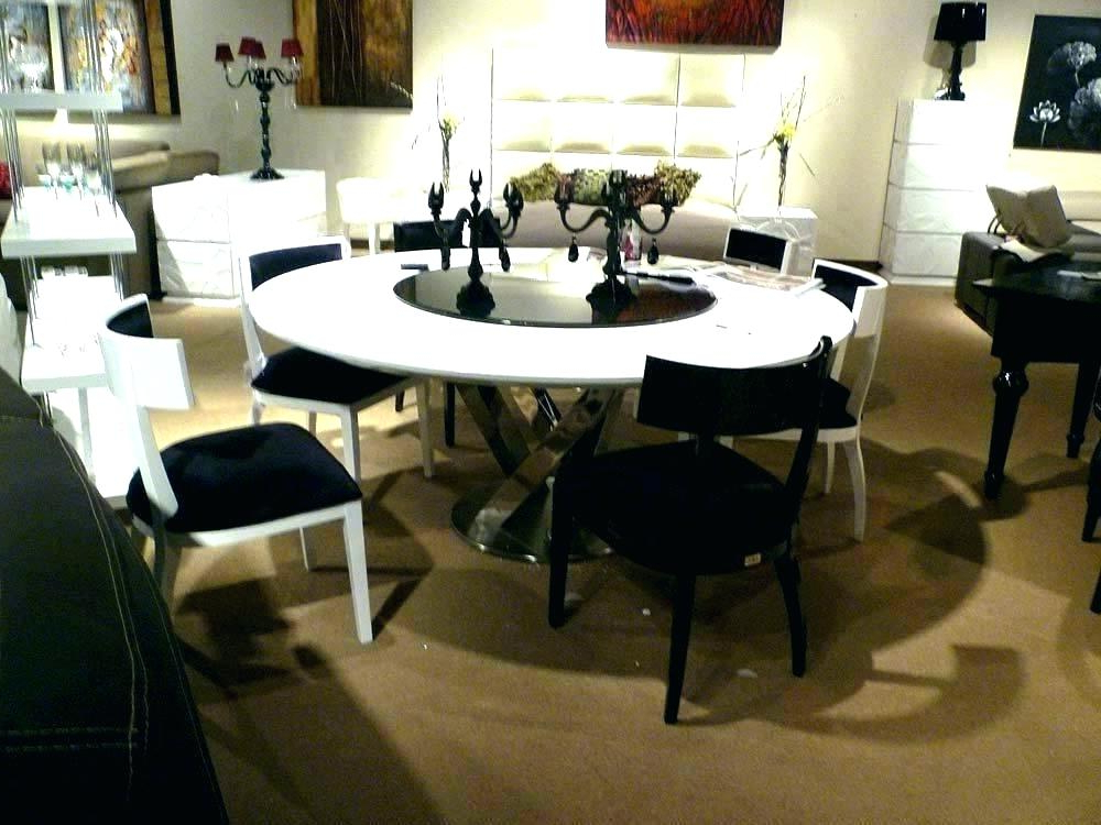 Fashionable Huge Round Dining Tables Inside Large Round Dining Table Seats 8 Large Round Dining Tables Round (View 4 of 20)