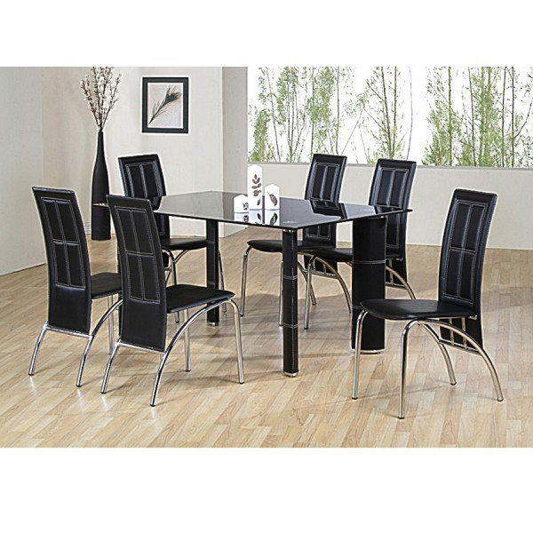 Fashionable Inspirational Table With 6 Chairs For Sale Dining And Chair Set 5021 Throughout Dining Tables And Six Chairs (View 19 of 20)