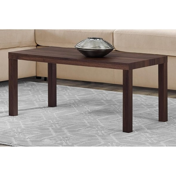 Fashionable Jaxon Grey Wood Side Chairs With Shop Avenue Greene Jaxon Walnut Coffee Table – Free Shipping Today (View 5 of 20)