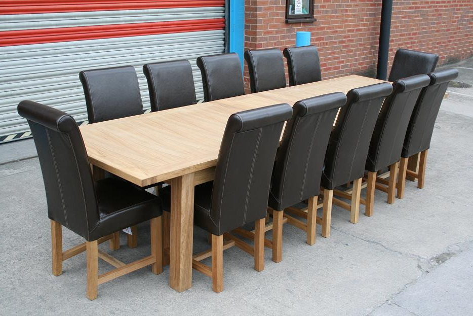 Fashionable Large Dining Table (Gallery 20 of 20)