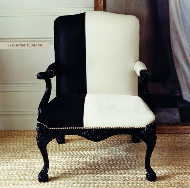 Fashionable Laurent Upholstered Side Chairs Inside Ralph Lauren Home #mayfair Collection 8 – Armchair (View 4 of 20)