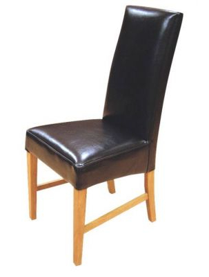 Fashionable Leather Dining Chairs From Teh Tetlow Range – Cafe Reality Within Real Leather Dining Chairs (Gallery 11 of 20)