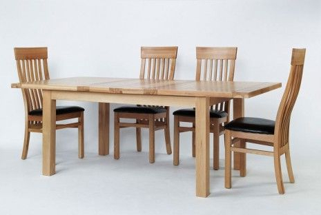 Fashionable Light Oak Dining Tables And 6 Chairs Inside Fresh Toned And Substantial, A Perfect Christmas Addition To An (Gallery 5 of 20)