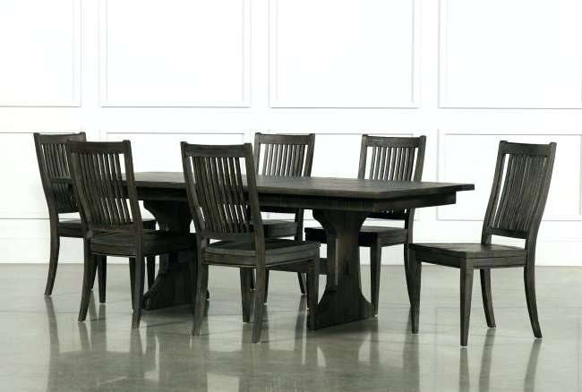 Fashionable Living Spaces Dining Sets Mallard 6 Piece Extension Dining Set Intended For Mallard 6 Piece Extension Dining Sets (View 3 of 20)