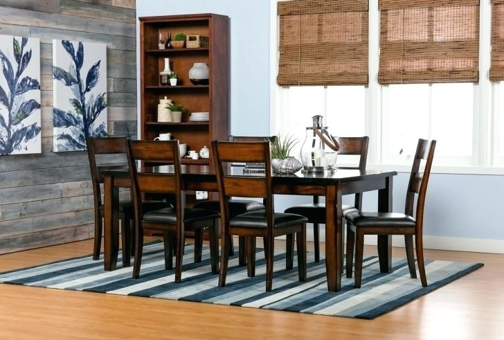 Fashionable Living Spaces Dining Table With Bench – Dining Tables Ideas Intended For Chapleau Ii 9 Piece Extension Dining Table Sets (View 14 of 20)