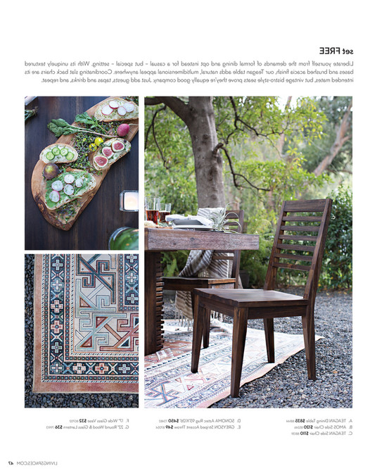 Fashionable Living Spaces – Product Catalog – February 2016 – Teagan Extension In Teagan Extension Dining Tables (View 9 of 20)