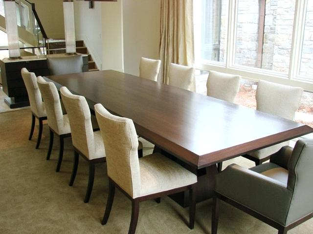Fashionable Long Dining Tables For Long Dining Room Table Sets – Modern Computer Desk Cosmeticdentist (Gallery 9 of 20)