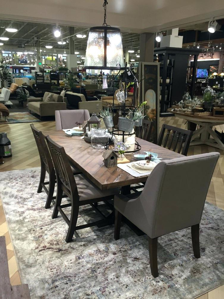 Fashionable Magnolia Table – Rileywranglers Pertaining To Magnolia Home Shop Floor Dining Tables With Iron Trestle (View 4 of 20)