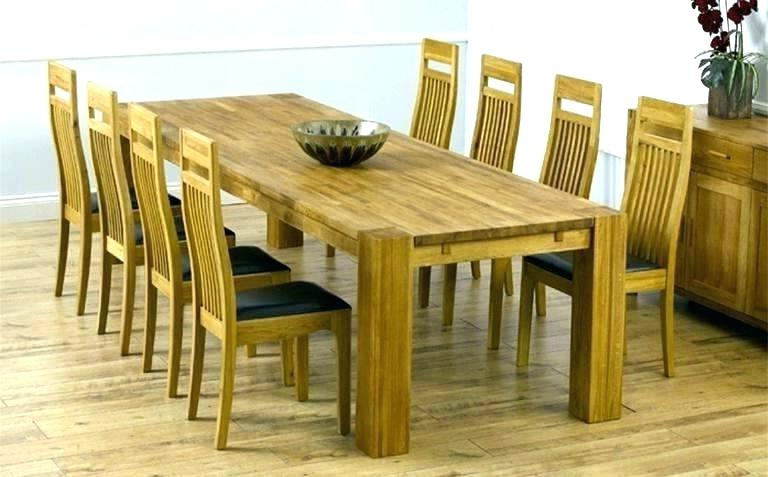Fashionable Oak Dining Tables And 8 Chairs For Dining Table Seats Square Dining Tables Seats 8 8 Seat Square Dining (Gallery 7 of 20)