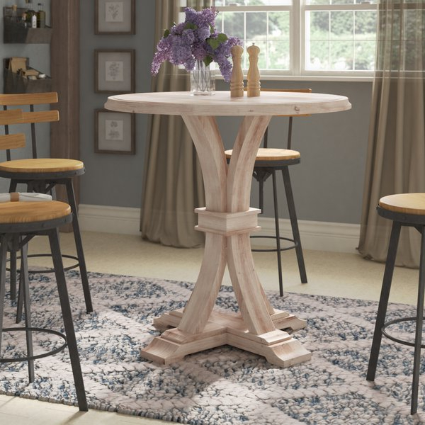 Fashionable Round Bar Height Dining Table (View 18 of 20)