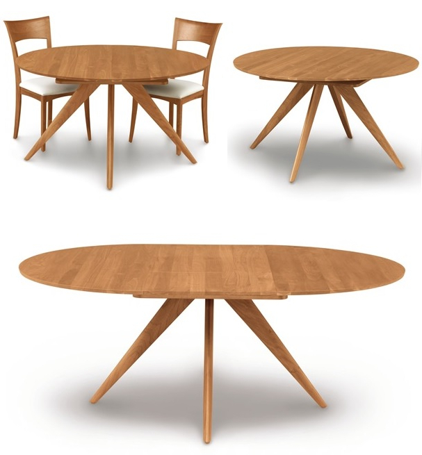 Fashionable Round Extending Dining Tables Throughout Extendable Dining Tables: From Simple Table Into A Great Table (View 5 of 20)