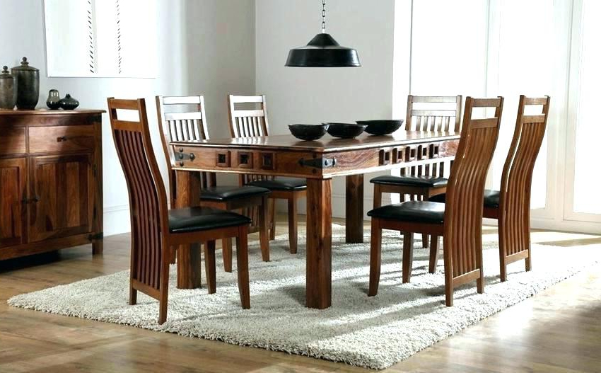 Fashionable Sheesham Dining Table And Chairs 6 4 – Fondodepantalla Regarding Sheesham Dining Tables 8 Chairs (View 15 of 20)