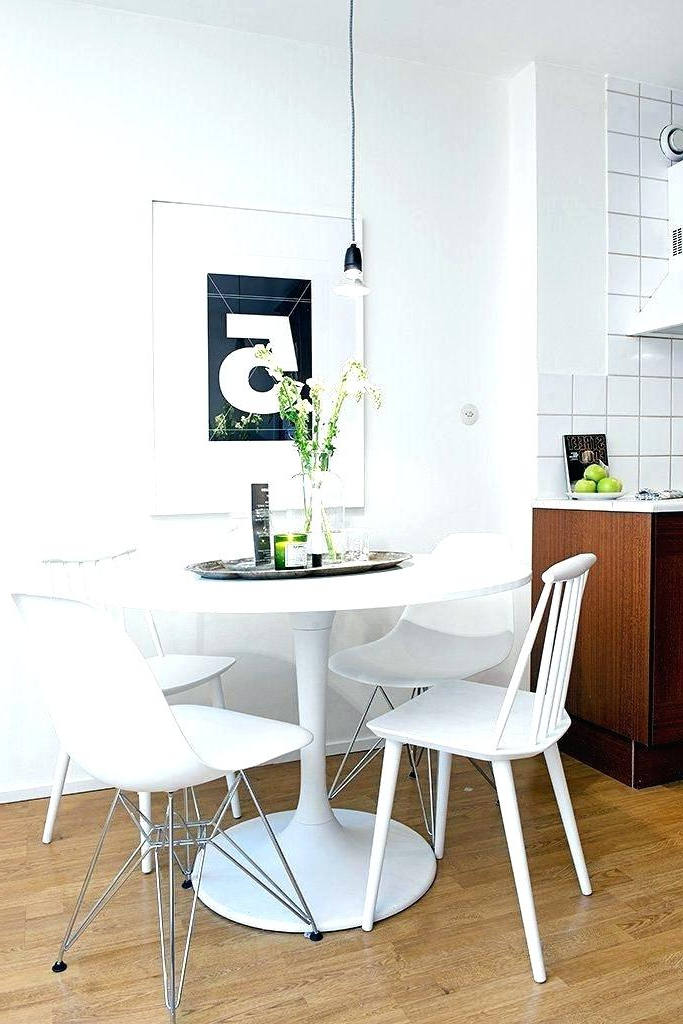 Fashionable Small Round White Dining Tables For Small Round White Dining Table Ideas Of And Chairs Bathroom (Gallery 1 of 20)