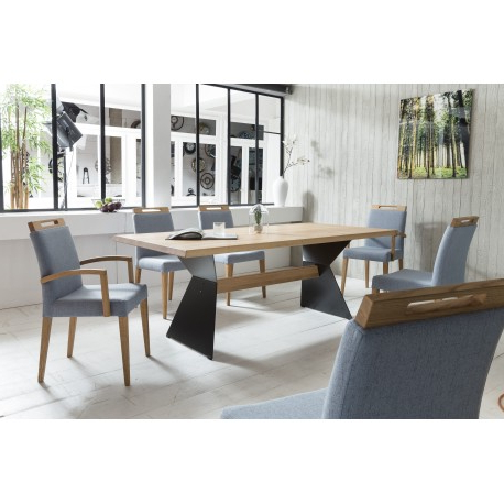 Fashionable Solid Wood Dining Tables Throughout Leyla – Solid Wood Dining Table – Dining Tables (2346) – Sena Home (View 4 of 20)