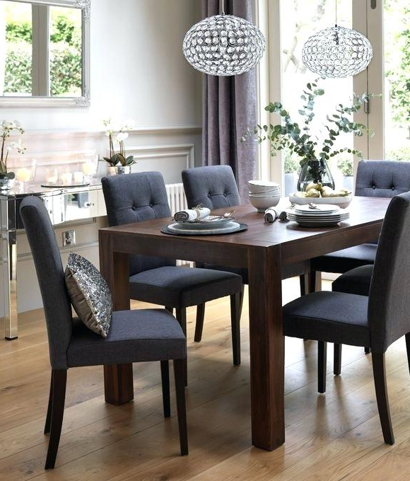 Fashionable Wooden Dining Table With Bench Seats – Modern Computer Desk Pertaining To Dark Wooden Dining Tables (View 17 of 20)