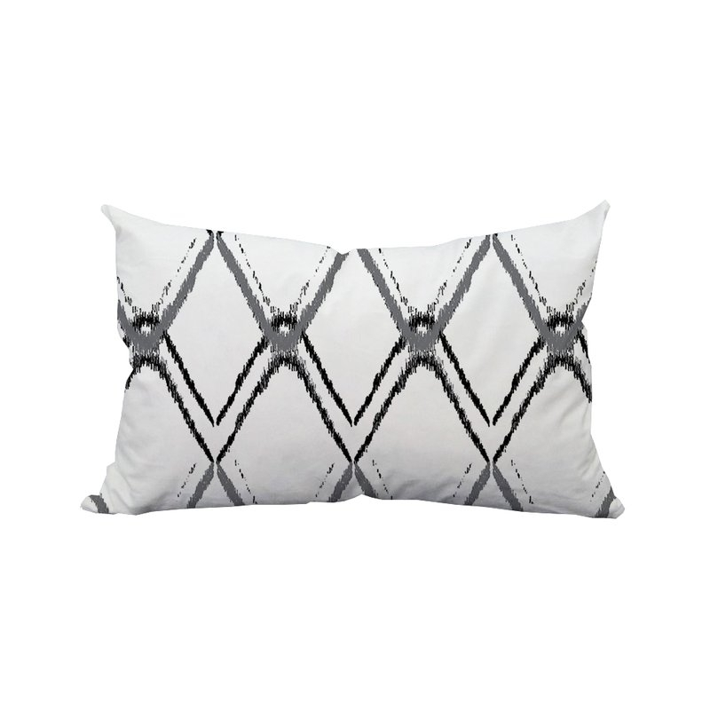 Fashionable Wrought Studio Mallard Diamond Ikat Indoor/outdoor Lumbar Pillow With Regard To Mallard Side Chairs With Cushion (View 14 of 20)