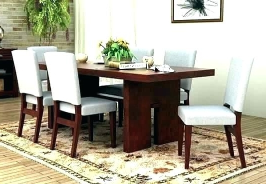 Favorite 6 Seater Dining Table And Chairs Glass Uk Sheen Set Six Din Sets For Cheap 6 Seater Dining Tables And Chairs (View 16 of 20)
