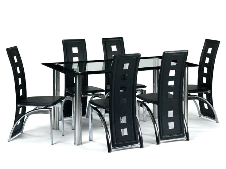 Favorite 6 Seater Glass Dining Table Sets Intended For 6 Seater Glass Dining Table Sets Room Of Photos Best Furniture (View 12 of 20)