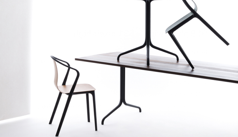 Favorite 8 Sleek Dining Tables And Chairs – Azure Magazine Regarding Sleek Dining Tables (View 3 of 20)