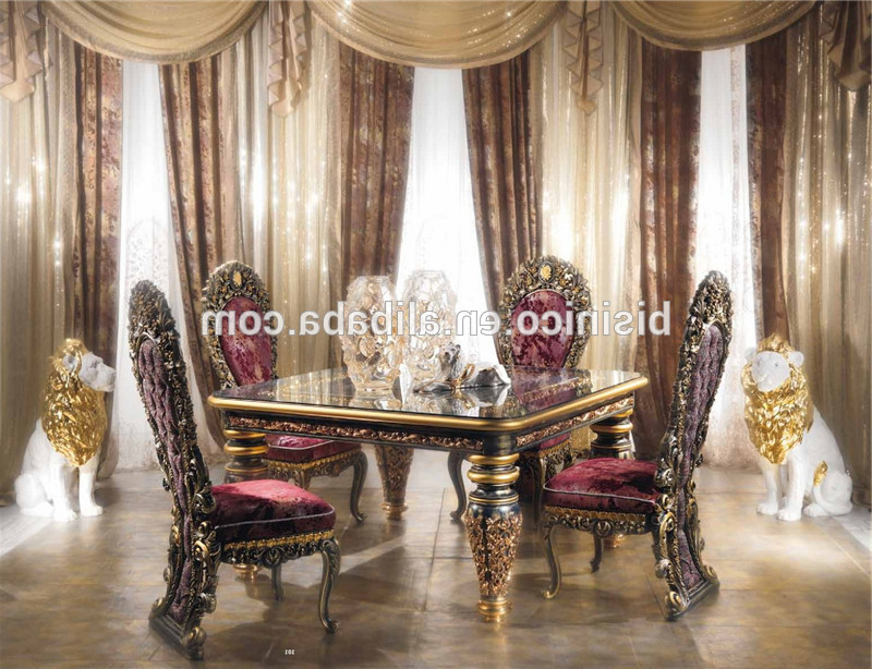 Favorite Antique Italy Style Imperial Dining Room Furniture,ornate Luxurious With Regard To Imperial Dining Tables (View 5 of 20)